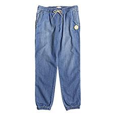 Штаны прямые детские Roxy Las Chicas Medium Blue