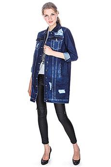 Женская джинсовая куртка 17W-368