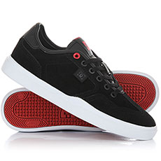 Кеды низкие женские DC Vestrey Se Black/White/Red