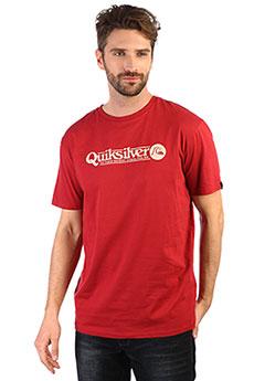 Футболка QUIKSILVER Arttickless Brick Red