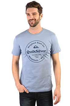 Футболка QUIKSILVER Scrtingredienss Stone Wash