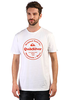 Футболка QUIKSILVER Scrtingredienss White