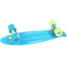 Скейт мини круизер Пластборды Sapphire Light Blue 6 x 22.5 (57 см)