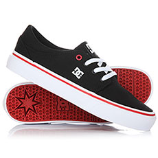 Кеды низкие DC Trase Tx Black/White/Red
