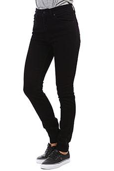 Джинсы узкие женские Roxy Bandit Pant Black