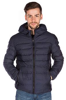 Мужская демисезонная куртка двухсторонняя с капюшоном синяя A PASSION PLAY