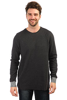Толстовка свитшот QUIKSILVER Hakonesummercre Dark Grey Heather