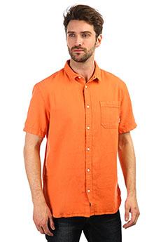 Рубашка QUIKSILVER Timeboxss Orange Rust