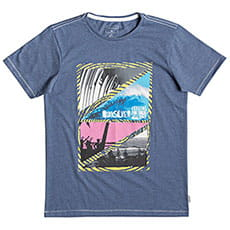Футболка детская QUIKSILVER Ythdreamssyth Blue Heather