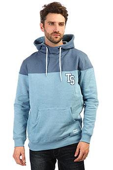 Толстовка кенгуру TrueSpin Ts Logo Hoodie Blue Shadow/Bering Sea