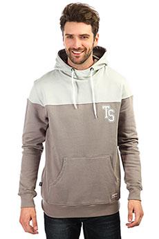 Толстовка кенгуру TrueSpin Ts Logo Hoodie Cloudy Burst/Grey Violet