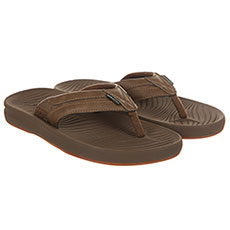 Вьетнамки QUIKSILVER Travel Oasis Tan - Solid