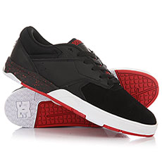 Кеды низкие DC Tiago S Black/Athletic Red/B
