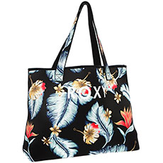 Сумка Roxy All Things Prt Anthracite Tropical