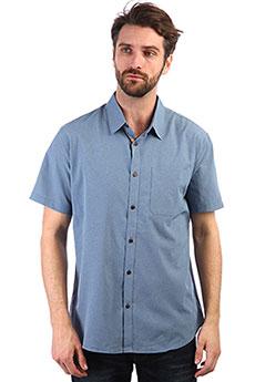 Рубашка QUIKSILVER Techtidesshirt Blue Shadow Marl