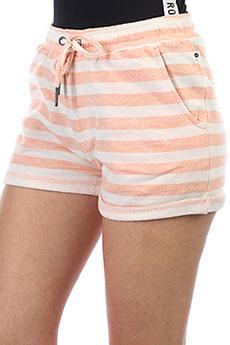 Шорты классические женские Roxy Trippinshortstr Salmon Stripe