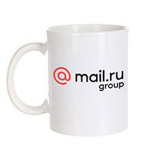 Кружка Mail.ru Logo Белая