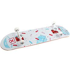 Скейтборд в сборе Юнион Flakes White 32 x 8 (20.3 см)