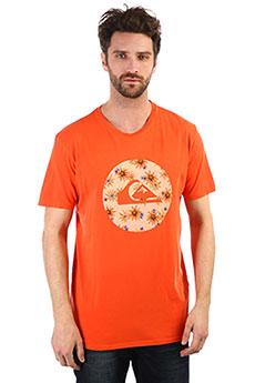 Футболка QUIKSILVER Quikcircledss Orange Rust 8283-1
