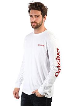 Лонгслив QUIKSILVER Checkitls White