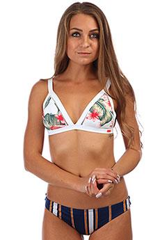 Бюстгальтер женский Roxy Dr Da Fu Ft Bright White Tropica 8277-57