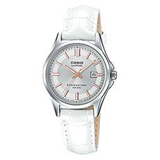 Кварцевые часы женские Casio Collection 69243 Lts-100l-9avef White