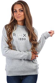 Толстовка женская классическая Roxy Eternallycrewb Heritage Heather