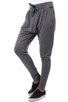 Штаны спортивные женские Roxy Jungle Roots Charcoal Heather