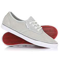 Кеды низкие Gravis High Rise Slymz Suede Grey