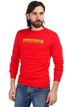 Лонгслив мужской Spitfire Logo Red