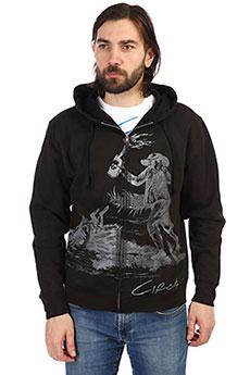 Толстовка классическая мужская Circa Loot Zip Hood Black