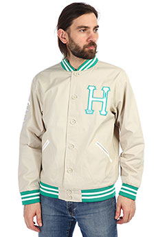 Бомбер мужской Huf Garments Tan/green