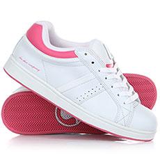 Кеды низкие женские DVS Fg/Berra3 W Series White/Pink
