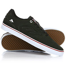 Кеды низкие Emerica The Reynolds Low Vulc X Indy Dark Green