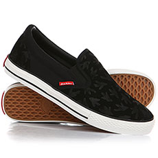 Слипоны Dickies Suede Slip On Black
