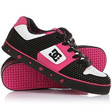 Кеды низкие DC Ws Pure Se Black/Crazy Pink