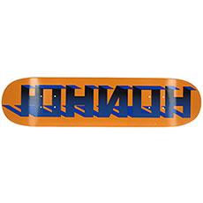 Дека для скейтборда Юнион Discocube Orange/Blue 31 x 7.5 (19.1 см)