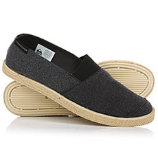 Эспадрильи QUIKSILVER Espadrilled Solid Black