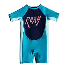 Гидрокостюм (Комбинезон) Roxy Tg1.5 Syn Aqua/Glicer Blue