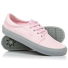 Кеды низкие DС Trase Tx Grey/Pink