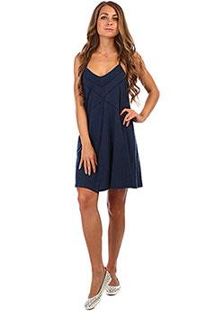 Платье женское Roxy New Leaseoflife Dress Blues