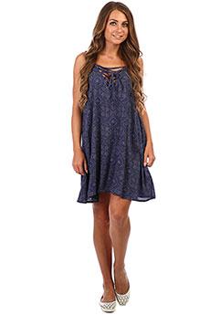 Платье женское Roxy Softylove P Dr J Cvup Blue Shibori Nig