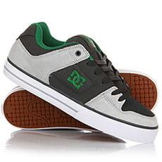 Кеды низкие DC Pure Se Grey/Green