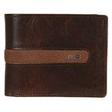 Мужской кошелек Billabong Dbah Leather Chocolate