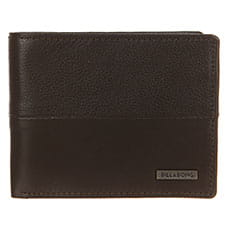 Мужской кошелек Billabong Fifty50 Id Leather Chocolate