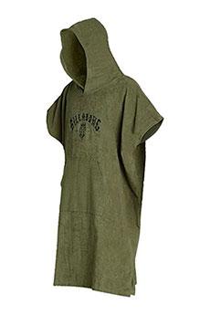 Полотенце с капюшоном Billabong Hoodie Towel Military