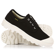 Ботинки низкие Palladium Pampa Ox Orig Black/Marshmallow