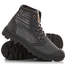 Ботинки высокие женские Palladium Hi Denim Forged Iron