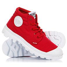 Ботинки высокие Palladium Blanc Lt Lcc Red Salsa