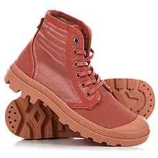 Ботинки высокие Palladium Hi Denim Brick Dust